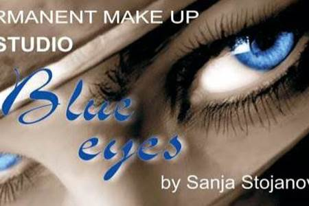 "Slika Permanent make up studio ""Blue eyes"" by Sanja Stojanović"